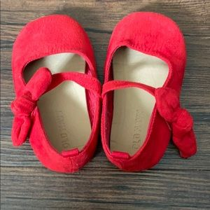 Red Old Navy Baby Walker Shoes